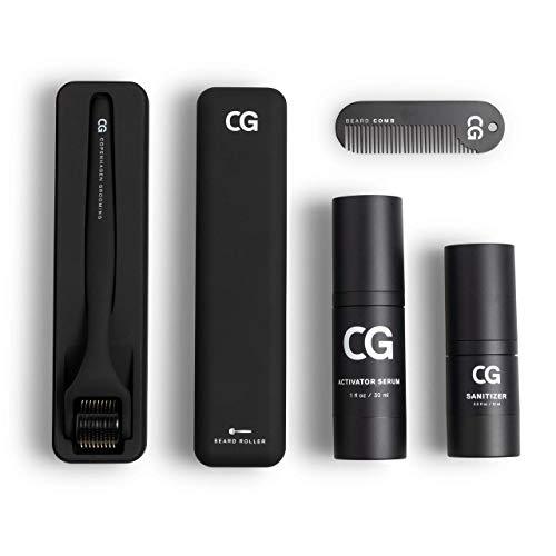 Copenhagen Grooming Beard Growth Kit (50 Tage Vorrat) - Bart Wachstum Set - Bartwuchsmittel Männer - Bartpflege Set mit Bartwachstums Mittel für Männer - The Beard Growth Kit