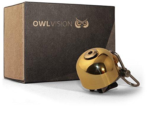 OWL VISION Fahrradklingel Hoot- Stylus (Chrome)