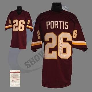 Washington Redskins Clinton Portis Autographed Signed Memorabilia Custom Pro Style Jersey Brg with JSA