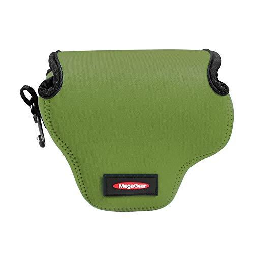 Consumer YHM Mini Tragbare Neopren Kameratasche & Hülle for Canon SX520 HS, Größe: 10 * 10 * 13 cm (Schwarz) (Color : Green)