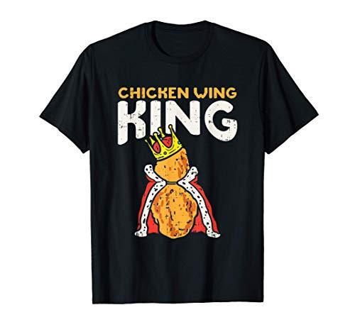 Chicken Wing King l Hähnchenflügel Fast Food Liebhaber T-Shirt