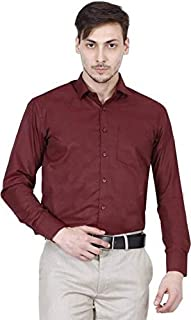 Raza Men's Regular Fit Full Sleeves Formal Shirt
