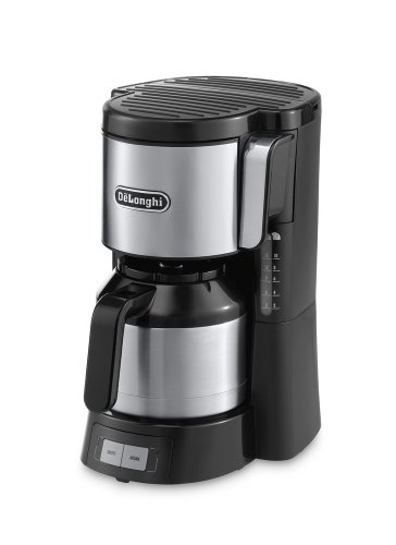 DeLonghi ICM 15740 Filterkaffeemaschine, schwarz