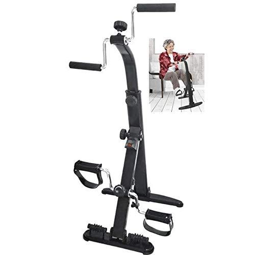 ZYQDRZ Ejercitador De Brazos Y Piernas De Bicicleta EstáTica, Ejercitador De Pedal PortáTil, Ejercitador De Pedal para Ancianos