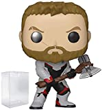 Marvel: Avengers Endgame - Thor Funko Pop! Vinyl Figure (Includes Compatible Pop Box Protector Case)...