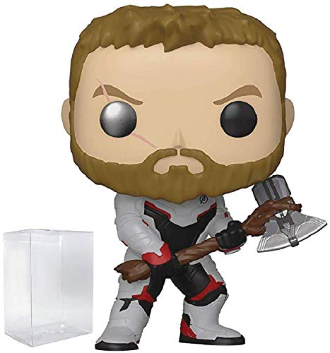 Marvel: Avengers Endgame - Thor Funko Pop! Vinyl Figure (Includes Compatible Pop Box Protector Case)
