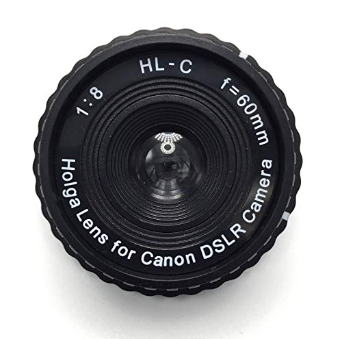 Price comparison product image Holga 60mm f / 8 Lens for Canon DSLR (Black)