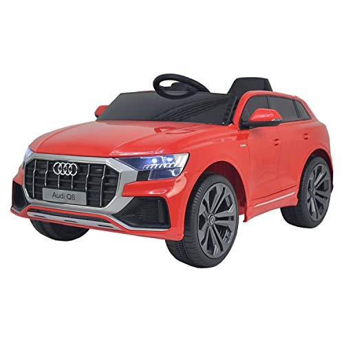 Happy Garden Voiture électrique Audi Q8 - Rouge