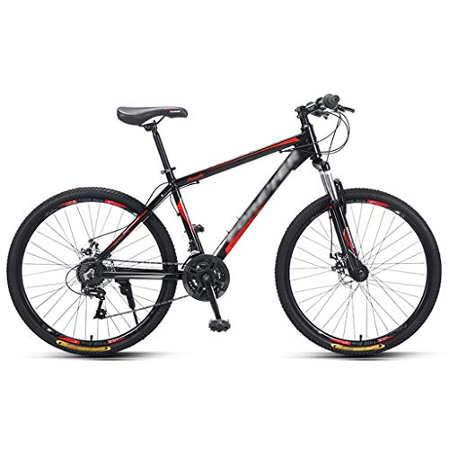 ZRN MTB Classic Bicycle Line Disc Brake26 Inch Wheels Mountain Bike 24 Speed Adult Bicycle Front Suspension