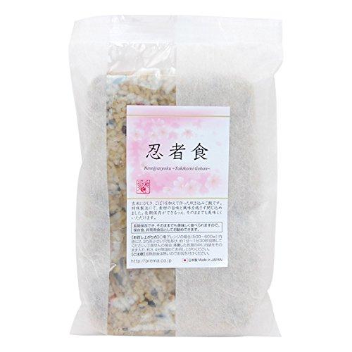 プレマシャンティ 忍者食 200g (保存食・非常食 炊き込みご飯)