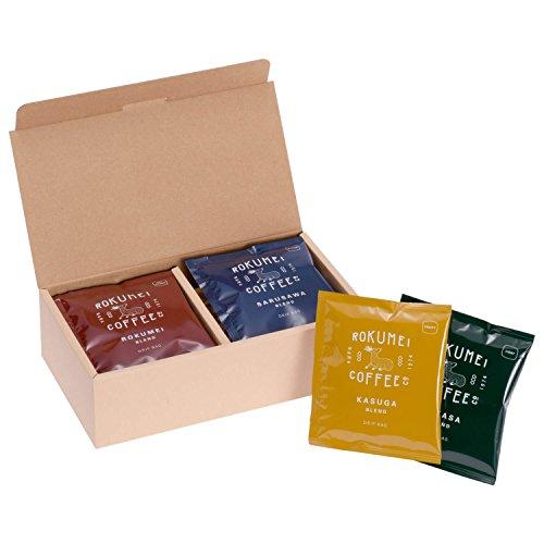 [ 母の日用 ] ROKUMEI COFFEE CO. ( ロクメイコーヒー ) 母の日 コーヒー ギフト [ ドリップバッグ 10pcs / 日常を豊かにする4種のブレンド ] ドリップコーヒー 贈り物 プレゼント ( 母の日シール )