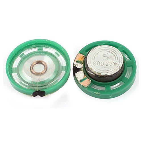 Sourcingmap® 2stk 8 Ohm 0.25W 27mm Dmr Externer Magnet Mini Lautsprecher Lautsprecher Horn de