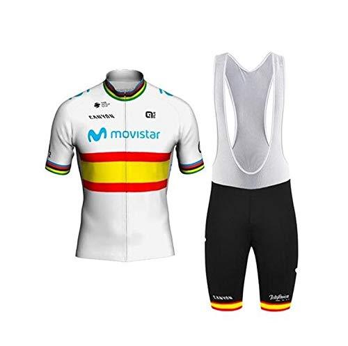 Traje de Ciclismo Hombre de Equipos Profesionales. Culotte y Maillot. Ropa Ciclismo...