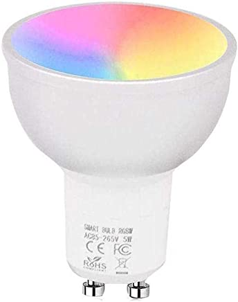 Catinbow Smart WiFi Light Bulb, LED RGB Color Changing, APP Remote Control Voice Control