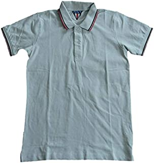 MusclePharm Femmes coton à manches courtes Gym Sport Classique Polo Shirt Homme XS-L
