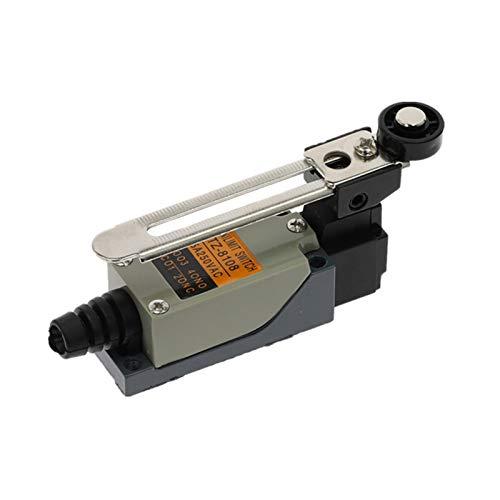 JSJJAET Interruptor Giratorio ME-8108 Interruptor de límite de límite Rotary Ajustable Palanca de Rodillo Mini interruptores Límites TZ-8108 AC250V 5A No NC