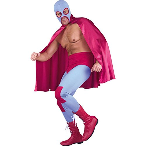 Adult Mexican Wrestler Costume