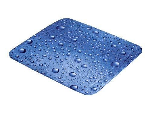 Kleine Wolke 5313769002 Duscheinlage Bubble, 55 x 55 cm, marineblau
