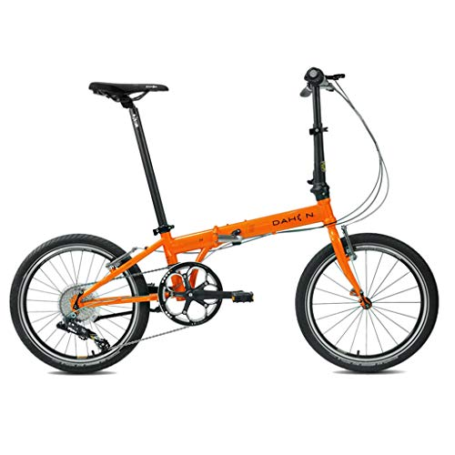 Great Deal! Folding Bikes Bicycle Folding Shifting Disc Brakes 20 Inch Shock Absorption Unisex Ultra...