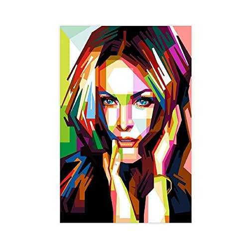 American Film And Television Attrice Julianne Moore 7 Poster Tela Camera Da Letto Decor Sport Paesaggio Ufficio Camera Decor Regalo 40 × 60 cm Unframe-style1