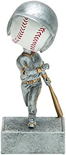 Decade Awards Baseball Bobblehead Trophy - League Award - 5.5 Inch Tall - Engraved Plate on Request
