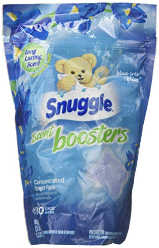 Snuggle Laundry Scent Boosters, Blue Iris Bliss, 30 Count