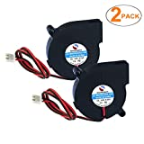 SoundOriginal 2pcs Cooling Blower Fan DC 12V 0.10A~0.15A 50mmx15mm Fans for 3D Printer Humidifier Aromatherapy and Other Small Appliances Series Repair Replacement