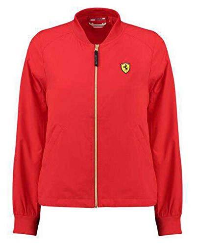 Scuderia Ferrari F1 Bomber Jacket Womens M