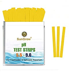 SunGrow Betta pH Test Strips