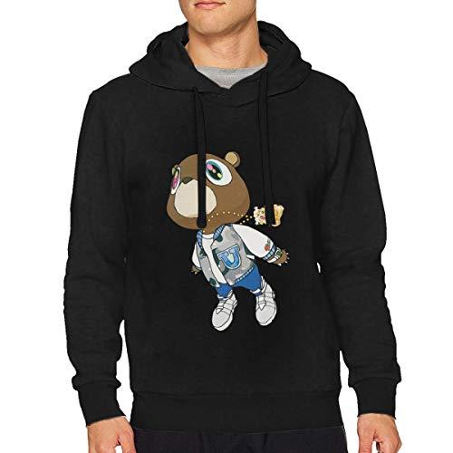 FHJEyh3 Kanye West Graduation Unisex Adult Hoodie Hooded Sweatshirt Sizes S-3XL Black