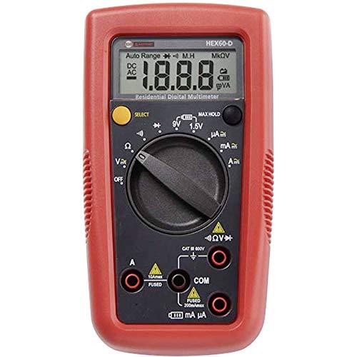 Beha-Amprobe Hexagon 60 Hand-Multimeter digital CAT III 600V Anzeige (Counts): 2000