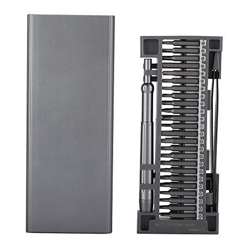Juego de destornilladores, destornillador magnético, destornillador, herramienta de desmontaje para teléfono, computadora, electrónica, destornillador multiusos