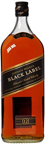 Johnnie Walker - Black Label Blended Scotch (1.5 Litre) - 12 year old Whisky