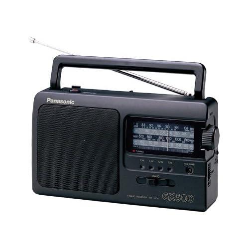 Panasonic RF-3500E-K Radio portable Tuner analogique FM/AM/LW/SW Noir