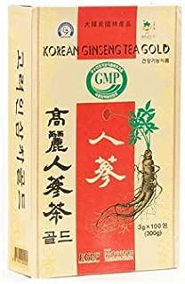 高麗人参茶(紙)100包 韓国食品 韓国茶 高麗人参茶
