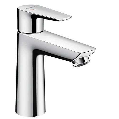 hansgrohe Wasserhahn Talis E CoolStart (Armatur mit Auslauf Höhe 110mm, ohne Ablaufgarnitur) Chrom