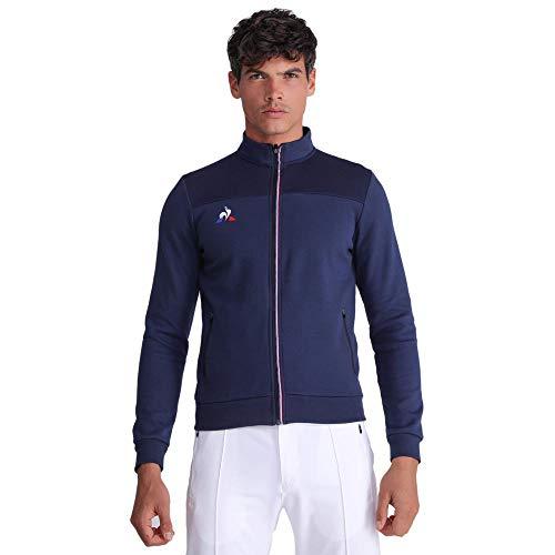 Le Coq Sportif FZ Sweat Presentation Tri N°1 M Sudadera, Hombre, Dress Blue, S
