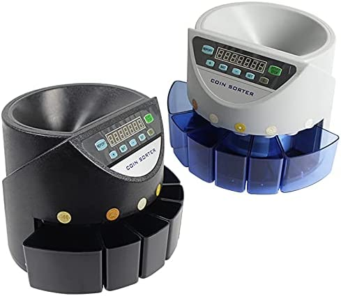 Accurate Count Portable Direct stock discount Euro USD GBP SorterCounter CAD Sales for sale Coin