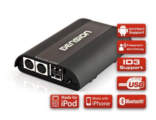 DENSION GATEWAY Pro BT GWP1V21 (iPhone + iPod + USB + Bluetooth) für Seat, Skoda & VW mit BAP CAN-Bus (RCD/RNS510)