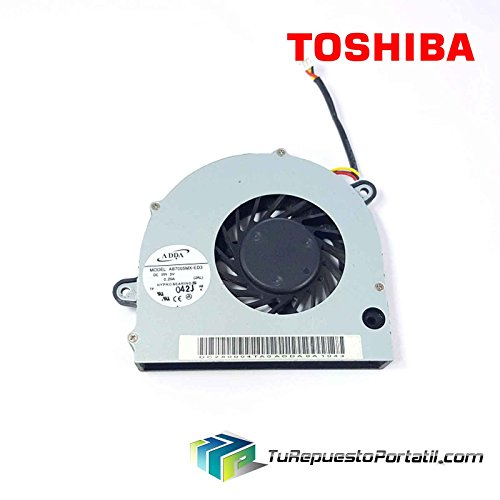 Ventilador Toshiba Satellite L500- 22R DC280004TA0 CPU Fan Original
