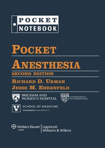 Pocket Anesthesia (Pocket Notebook)