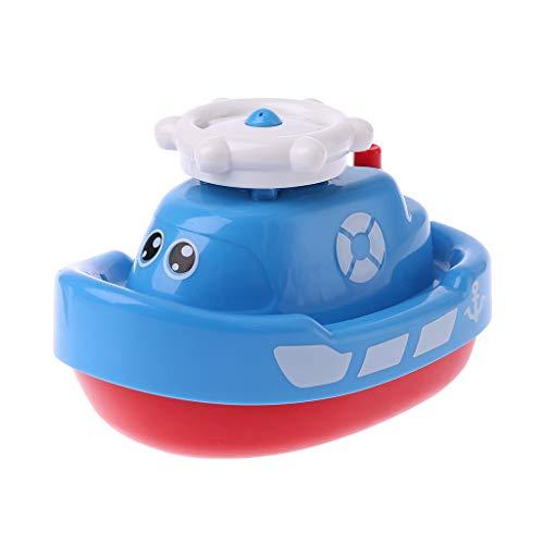 Tvvudwxx Kinder Badespielzeug Boot Elektronische Spray Wasser Boot Schwimm Badewanne Spielzeug Spielen Kind Baby Geschenke