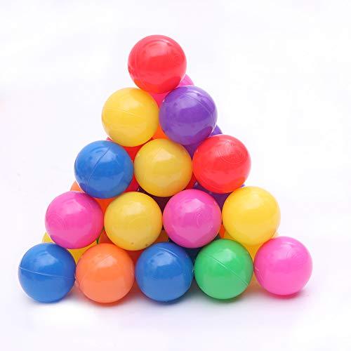 ALTITUDE Weiches Kunststoff-Ballspielzeug für Babys, Kinder, bunt.