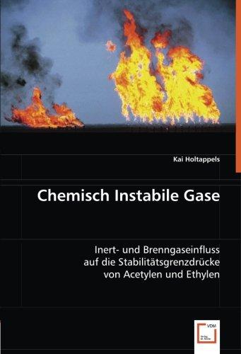 Chemisch Instabile Gase: Inert- und Brenngaseinfluss auf die Stabilitätsgrenzdrücke von Acetylen und Ethylen