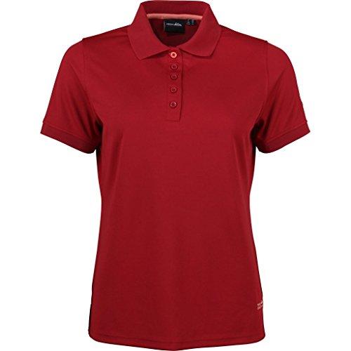 High Colorado Seattle Damen Polo Shirt Größe: 40 Farbe: 3000 rot