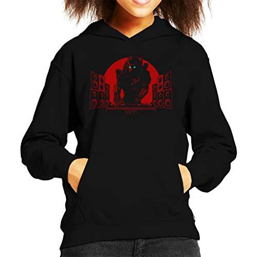 Cloud City 7 Killer Beats DJ Predator Sweatshirt met capuchon voor kinderen