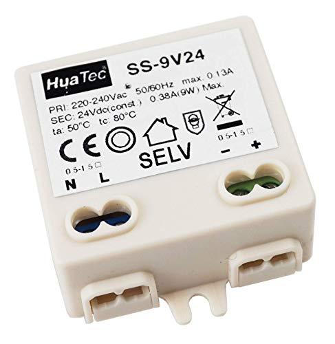 HuaTec Eaglerise Trasformatore LED 24V 9W Tensione Costante per Strisce LED Alimentatore Driver