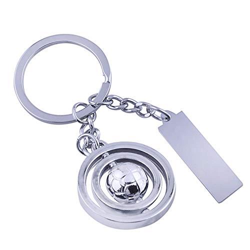 hsy KeychainRotating Ball Tag Schlüsselanhänger/Unisex Persönlichkeit...