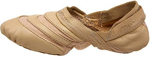 Capezio womens Freeform Ballet dance shoes, Caramel, 8.5 US