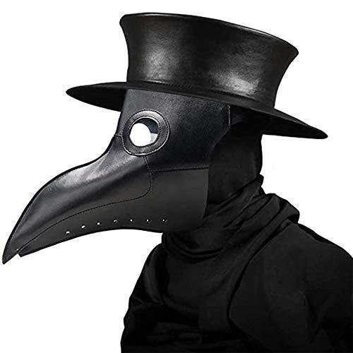 Maschera da medico della peste, 2020 Nuovo Maschera Medico Peste Maschera da uccello Steampunk Maschera per costume da festa in maschera di Halloween Puntelli punk a vapore retrò cosplay gotici